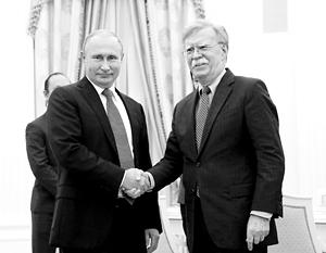 Джон Болтон становится регулярным гостем в Кремле