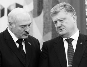 Лукашенко Порошенко