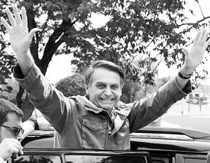 «Бразильский Трамп» после избрания президентом страны пообещал прекратить «флирт с социализмом, коммунизмом, популизмом и левым экстремизмом»