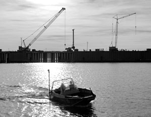Белоруссия мечтает построить крупный порт на Днепре. Но получится ли?