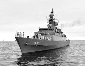Корабли ВМС Ирана готовятся к визиту в Италию