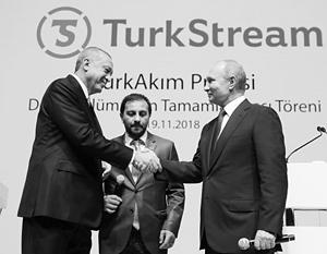 Путин и Эрдоган напомнили об успехах еще одного газопровода,  неугодного США