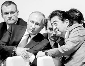 Владимир Путин и Синдзо Абэ провели уже несколько десятков встреч