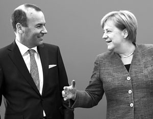Меркель хочет передать единую Европу в руки Манфреду Веберу