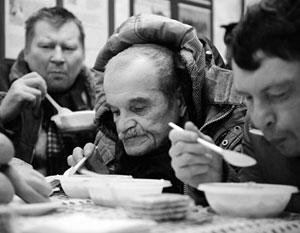 Москвичи запретили собирать деньги для бездомных
