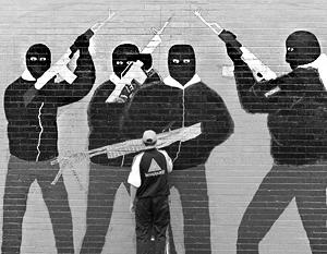 Хотя война закончилась 20 лет назад, боевики ИРА в Ольстере остаются популярными персонажами