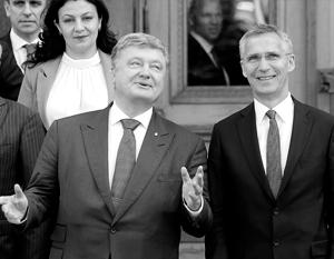 Порошенко явно переоценил готовность НАТО и Запада в целом прийти ему на помощь