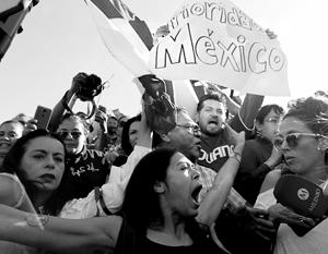 Мексиканцы ненавидят Трампа и ждут от нового президента Обрадора защиты своей национальной гордости