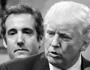 Бывший личный адвокат Трампа Майкл Коэн рассказывает о своем клиенте