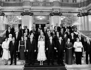 Лидеры крупнейших мировых держав первый раз собрались в Аргентине