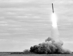 На фото – пуск той самой ракеты 9М729, которую США считают нарушающей договор РСМД
