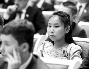 11-летняя якутянка Харысхаана Аммосова спасла тонущего в реке ребенка