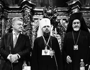 Нет уверенности, что новый «киевский митрополит» Епифаний будет подыгрывать Порошенко
