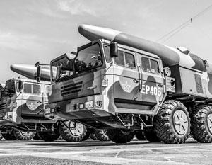 Большая часть китайских ракет относятся к ракетам средней и меньшей дальности