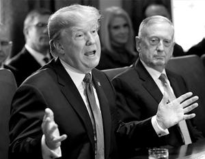 Похоже, что Трамп намеренно спровоцировал отставку главы Пентагона Мэттиса
