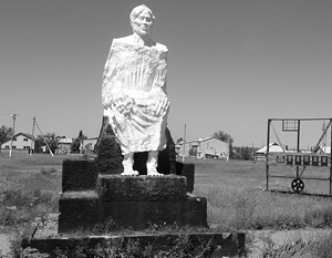 Мемориал жертвам депортации калмыков, село Троицкое, Калмыкия