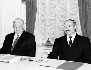 В Минске призывают забыть о договоре Лукашенко – Ельцина 1999 года