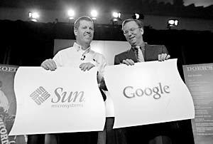 Руководители компаний Google и Sun объединяют усилия против MS Office