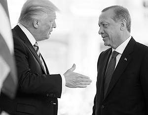Эрдоган и Трамп теперь ссорятся и мирятся по несколько раз за день