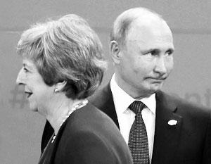 В своих проблемах Тереза Мэй не может винить Владимира Путина