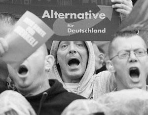 «Альтернативе для Германии» удалось спровоцировать резкую ненависть немецкого истеблишмента