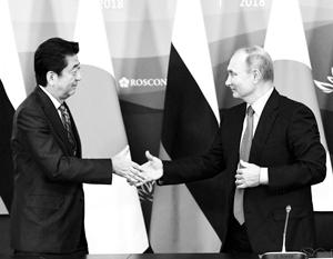 Путин и Абэ хотят договориться