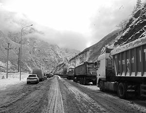 Россию и Южную Осетию связывает одна-единственная горная дорога