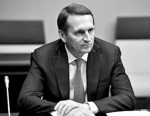 Сергей Нарышкин – первый глава внешней разведки России, столь часто появляющийся в публичном пространстве