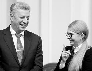 Соцопросы говорят о неплохих шансах Бойко, но рейтинг Тимошенко все равно выше