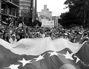 Венесуэла застыла в шаге от гражданской войны