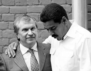 Венесуэла должна «Роснефти» более 3 млрд долларов