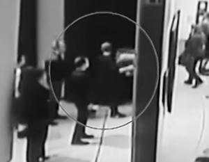 Момент похищения картины Архипа Куинджи «Ай-Петри. Крым»