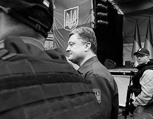 Охрана Порошенко старается всячески доказать патрону свою полезность