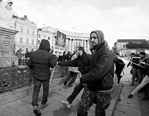 Так в Киеве проходят митинги за разрешение легких наркотиков
