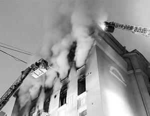 Пожар в центре Москвы обнажил всероссийскую проблему
