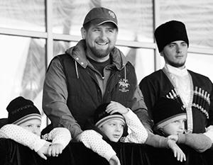 У Рамзана Кадырова четверо сыновей и шестеро дочерей