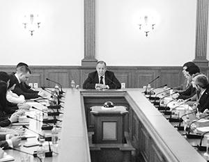 «Российская дипломатия – это дипломатия, основанная на традициях, на международном праве»