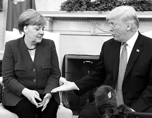Ангела Меркель не доверяет Трампу точно так же, как и ее соотечественники