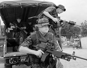 Американским солдатам не привыкать к вторжениям в страны Латинской Америки