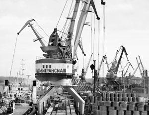 В прошлом году грузооборот всех наших портов Каспийского бассейна составил ничтожные 4,8 млн тонн