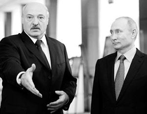 Лукашенко готов идти вместе с Путиным по пути интеграции России и Белоруссии