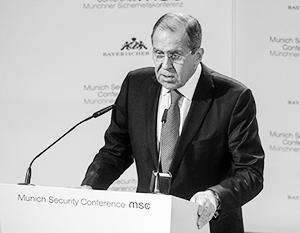 Сергей Лавров предложил европейцам партнерство вместо противоборства