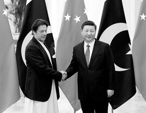 Недавно пакистанский лидер Имран Хан был в Пекине у Си Цзиньпина