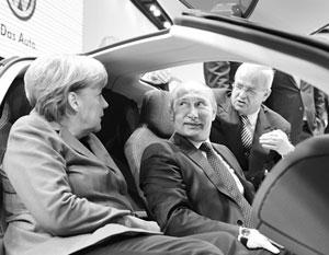 Немецкие машины играют важную роль в российско-германских связях