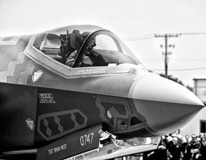 Самолет-невидимка F-35 оказался вполне себе заметен для русских зениток С-400