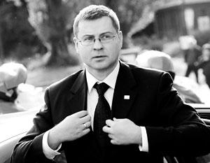 Валдис Домбровскис подверг Латвию жестокому испытанию