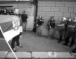 В сербском противостоянии патриоты находятся по обе стороны баррикад