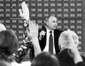 Владимир Путин задал властям в Киеве вопрос по-украински