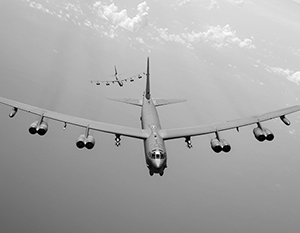 В прошлый раз B-52Н отправляли на базу Фэрфорд в канун вторжения в Ирак