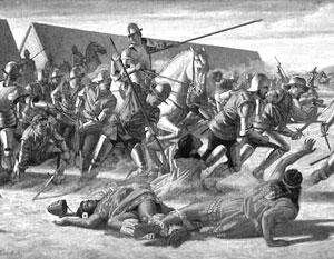 Завоевание территории современной Мексики отличалось кровавой жестокостью